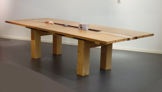 Een leestafel voor Lux Nijmegen