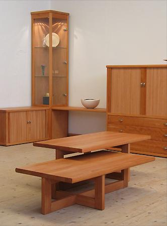 Beuken tafels en kasten