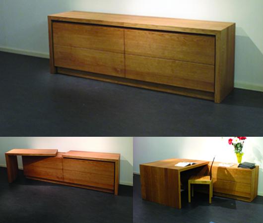 Bureau-Kast