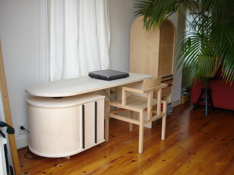 """Een nieuw bureau bij """"oude"""" meubels van Kopshout"""