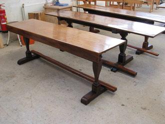 Inrichting van het Studiecentrum Soeterbeeck fase 5: restauratie van zes 17e-eeuwse tafels in de Refter