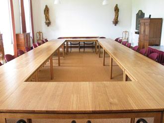 Inrichting van het Studiecentrum Soeterbeeck Fase 2: vergadertafels voor de Windesheimzaal