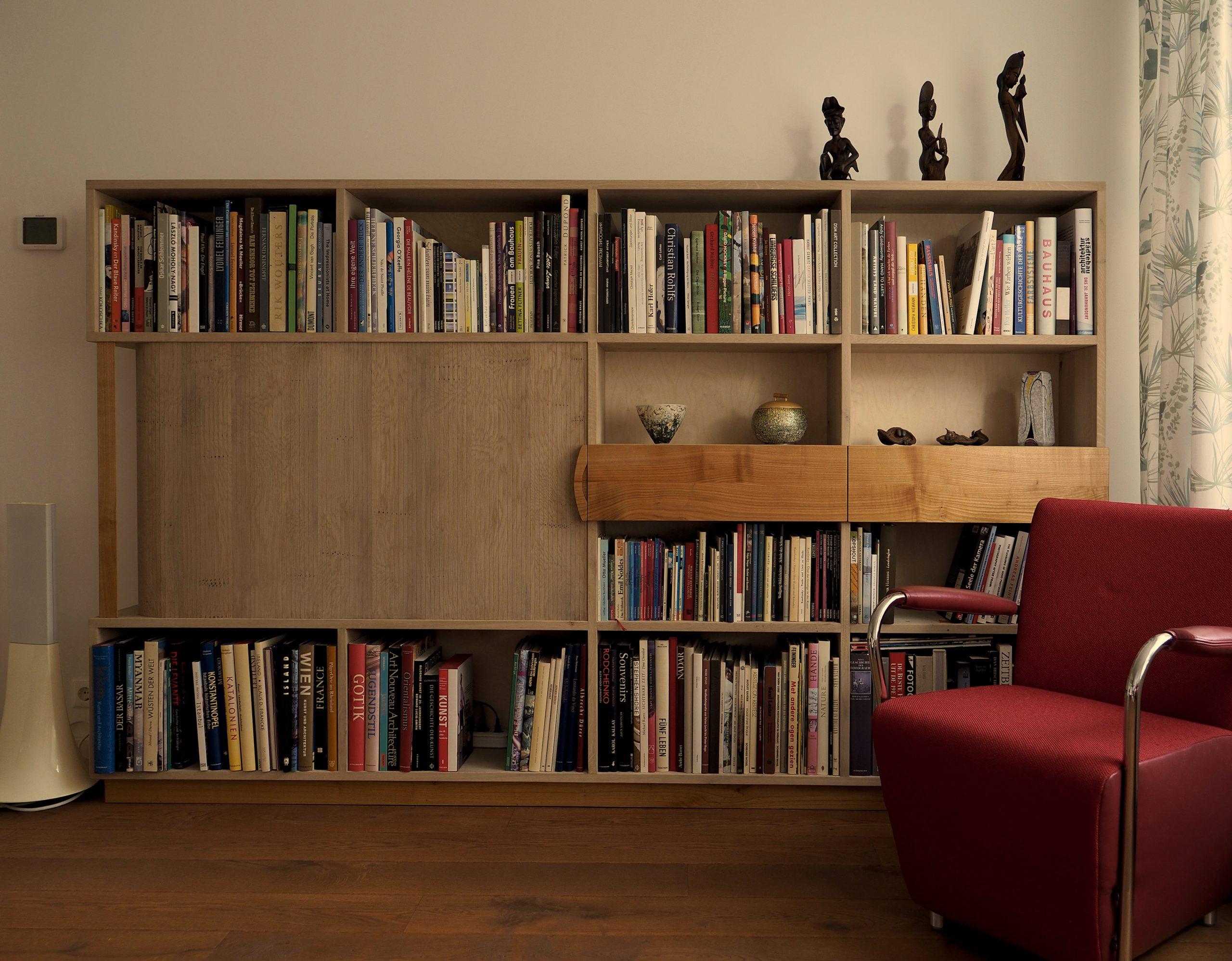 Boekenkast voor zware boeken
